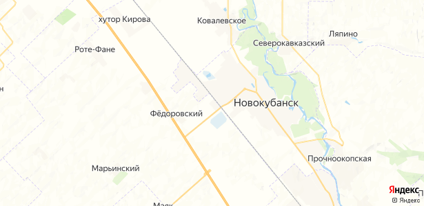 Шефкоммуна на карте
