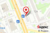 Схема проезда до компании Николь в Иваново