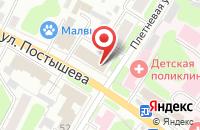 Схема проезда до компании Стоматологический кабинет на ул. Постышева в Иваново