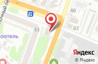 Схема проезда до компании Ивановская в Иваново
