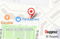 Схема проезда до компании Матрица в Иваново