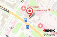 Схема проезда до компании Максоптика в Иваново