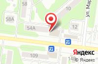 Схема проезда до компании Швейное ателье в Иваново