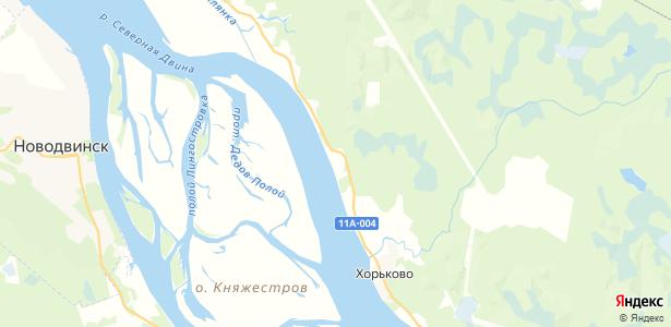 Псарево на карте