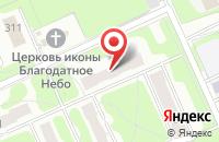 Схема проезда до компании Кухня 21 века в Иваново