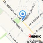 Администрация Ковалевского сельского поселения на карте Армавира