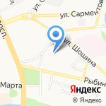 Гимназия №23 на карте Иваново