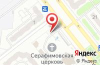 Схема проезда до компании Храм преподобного Серафима Саровского в Иваново
