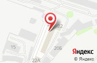 Схема проезда до компании Электролюкс в Иваново