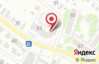 Схема проезда до компании Супер Дент в Иваново