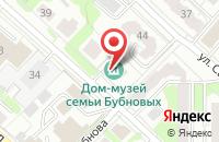 Схема проезда до компании Дом-музей семьи Бубновых в Иваново