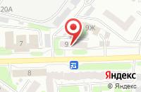 Схема проезда до компании Креп-пром в Иваново
