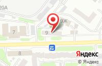 Схема проезда до компании КрепСнаб в Иваново