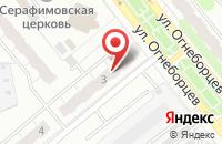 Схема проезда до компании Иголочка в Иваново