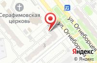 Схема проезда до компании Сервисный центр в Иваново