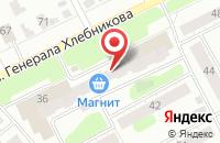 Схема проезда до компании Магия в Иваново