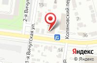 Схема проезда до компании Зевс в Иваново