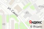 Схема проезда до компании TermikoGroup в Иваново