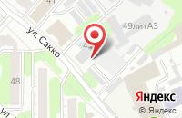 Схема проезда до компании Компания по химчистке ковров в Иваново