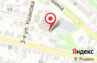Схема проезда до компании Ветасс в Иваново