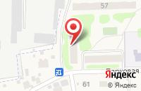 Схема проезда до компании Общежитие в Богородском