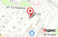 Схема проезда до компании Ваш квадратный метр в Костроме