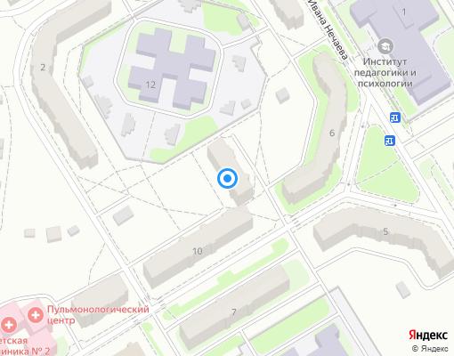 Товарищество собственников жилья «п. Новый» на карте Костромы