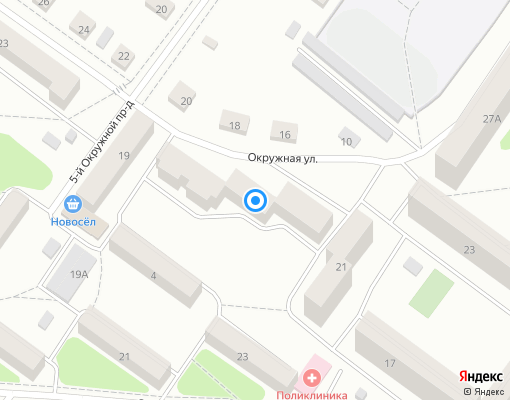 Товарищество собственников жилья «Новоселов 19 Б» на карте Костромы
