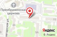 Схема проезда до компании Телерынок в Иваново