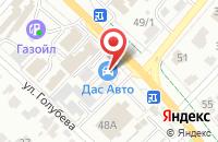 Схема проезда до компании ИГЛА.РФ в Иваново