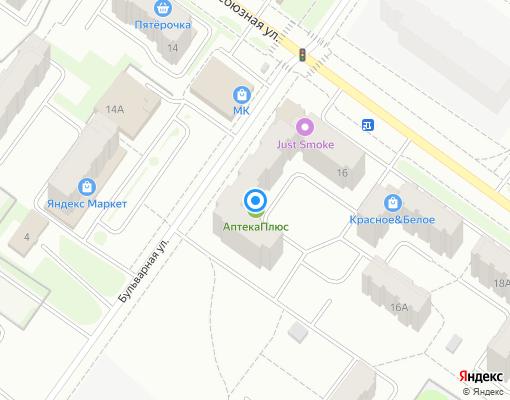 Товарищество собственников жилья «КОЛОС-1» на карте Костромы
