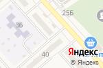 Схема проезда до компании Золотая нить в Новокубанске