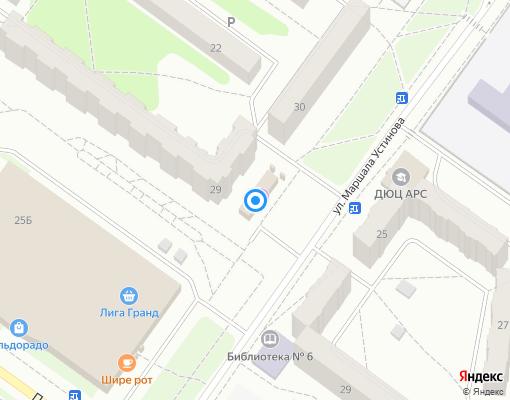 Управляющая компания «Костромской» на карте Костромы