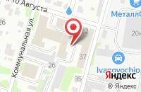 Схема проезда до компании RestArt в Иваново