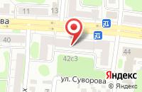 Схема проезда до компании Ens в Иваново