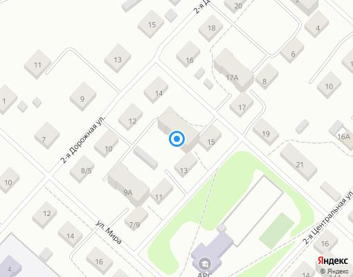 Товарищество собственников жилья «2- Центральная 13 А» на карте Костромы