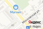Схема проезда до компании Красотка в Новокубанске