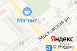Схема проезда до компании Ермолинские полуфабрикаты в Новокубанске