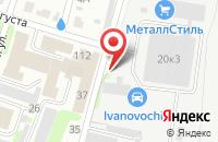 Схема проезда до компании Висконт Профи в Иваново