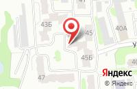 Схема проезда до компании Кракатук в Иваново