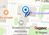 Комитет Ивановской области по лесному хозяйству на карте