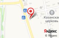 Схема проезда до компании Фиеста в Ковалевском