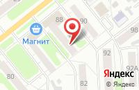 Схема проезда до компании Транссервис в Иваново