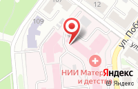 Схема проезда до компании Родильный дом г. Иваново в Иваново