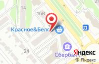 Схема проезда до компании Лотос в Иваново