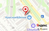 Схема проезда до компании Феникс в Иваново