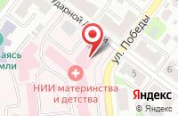 Схема проезда до компании Моя аптека в Иваново