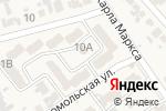 Схема проезда до компании Вероника в Новокубанске
