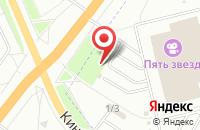 Схема проезда до компании АвтоЕвропа в Караваево