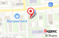 Схема проезда до компании Fashion в Иваново